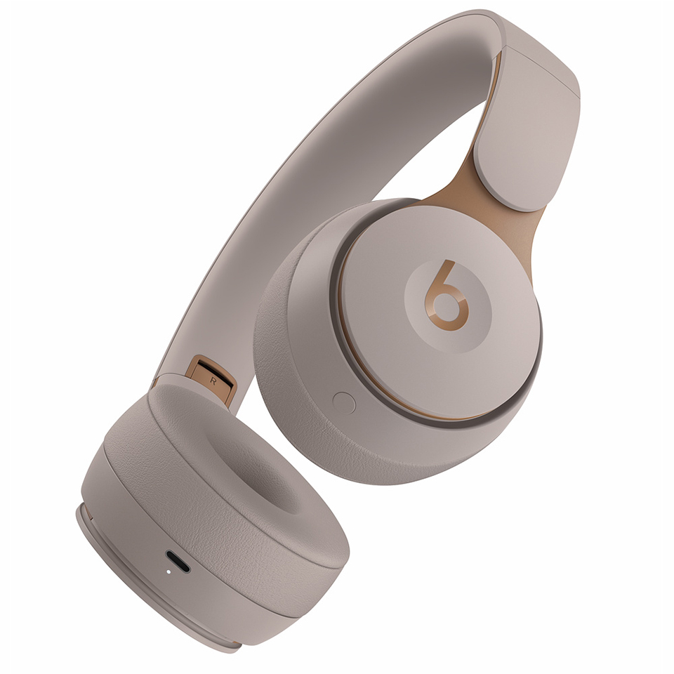 Beats wireless headphones solo pro wireless bluetooth anc headphones portable gaming sport noise cancelling headset foldable earphone handsfree mic