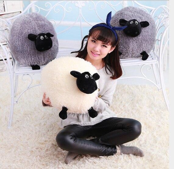 Stuffed Animals & Plush Wool Velvet Toy Dolls & Accessories Sleeping Pillow Plush Animal Toy Children Classic Toys Lamb Doll