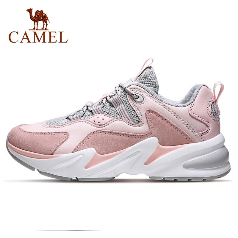 CAMEL Outdoor Running Shoes Fashion Sneakers Men's Shoes Men Women Leisure Sports Shoes Unisex Shoes Couple Women's Casual Shoes