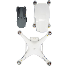 """עבור DJI פנטום 3 Pro עו""""ד הופך מתקפל Drone כמו גדול Mavic Drone גוף הגנת מקרה מתקפל מגן כיסוי"""