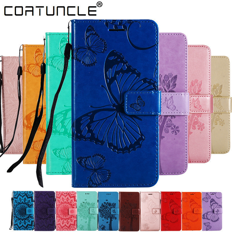 Huawei Honor 8X Case Flip Leather For Huawei Honor 8C Case For Coque Huawei Honor 8X 8A 8C 8S Cover 3D Relief Wallet Phone Cases
