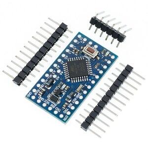 Image 2 - 무료 배송 100 개/몫 프로 미니 328 미니 3.3V/8M 5V/16M ATMEGA328 ATMEGA328P AU Arduino 용 3.3V/8MHz 5V/16MHZ