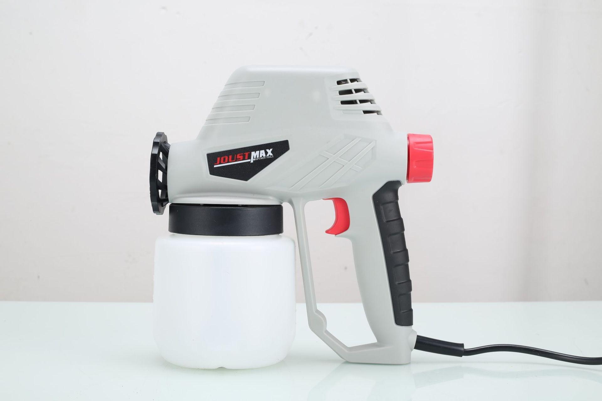 Pistolet de pulvérisation électrique haute pression déconstructible en gros pistolet de pulvérisation de chocolat pistolet de pulvérisation de peinture au Latex de Type réglable