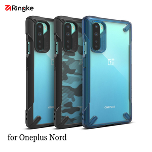 Ringke Fusion X for Oneplus Nord Case Dual Layer PC Clear Back and Soft TPU Frame Hybrid Heavy Duty Drop Protection Cover