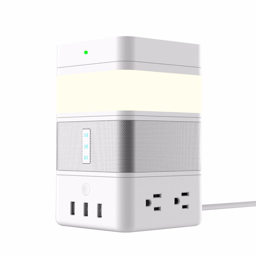 New Arrival Freecube Power Spcket/speaker/Christmas Led Light/ Wireless Charger QI Wireless Charging Kit With Multifunction
