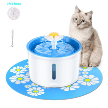 Cat Water Fountain 1.6L Automatic Pet Drinking Water Fountain Pet Water Dispenser Puppy Cat Health Caring Fountain Water Feeder mini water dispenser cooler drinking water fountain hot cold water machine for home office