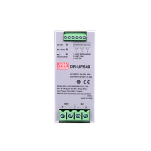 DR-UPS40 40A DIN RAIL DC UPS Module Power Supply Parallel connection to DC BUS MEAN WELL 24-29V for UPS system