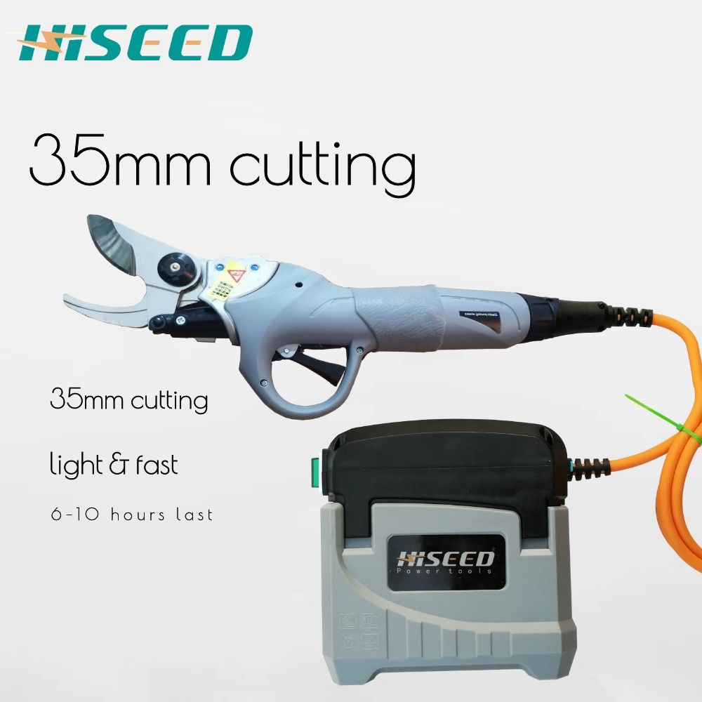 35 Cutting Diameter Professional Portable Electric Pruning Shears Battery Powered Pruners For Vineyard Orchards Agriculyure CE