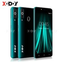 """XGODY K20 Pro 4G Smartphone Dual SIM 5.5 """"18:9 pełnoekranowy telefon komórkowy 2GB 16GB MT6737 czterordzeniowy Android 6.0 odcisk palca odblokuj"""