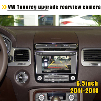 For Volkswagen Touareg 2011-2018 Interface Adapter Original Screen 6 5inch upgrade Display backup Camera reversing module HD tanie i dobre opinie