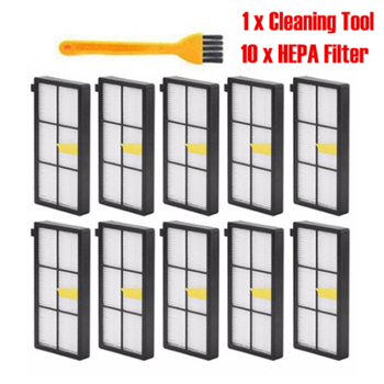 For iRobot Roomba 960 980 800 900 870 880 865 885 886 spare hepa accessories replacement filter robot vacuum cleaner parts 10pcs hepa filter for irobot roomba 800 900 series 870 880 980 filters vacuum robots replacements cleaner parts accessory