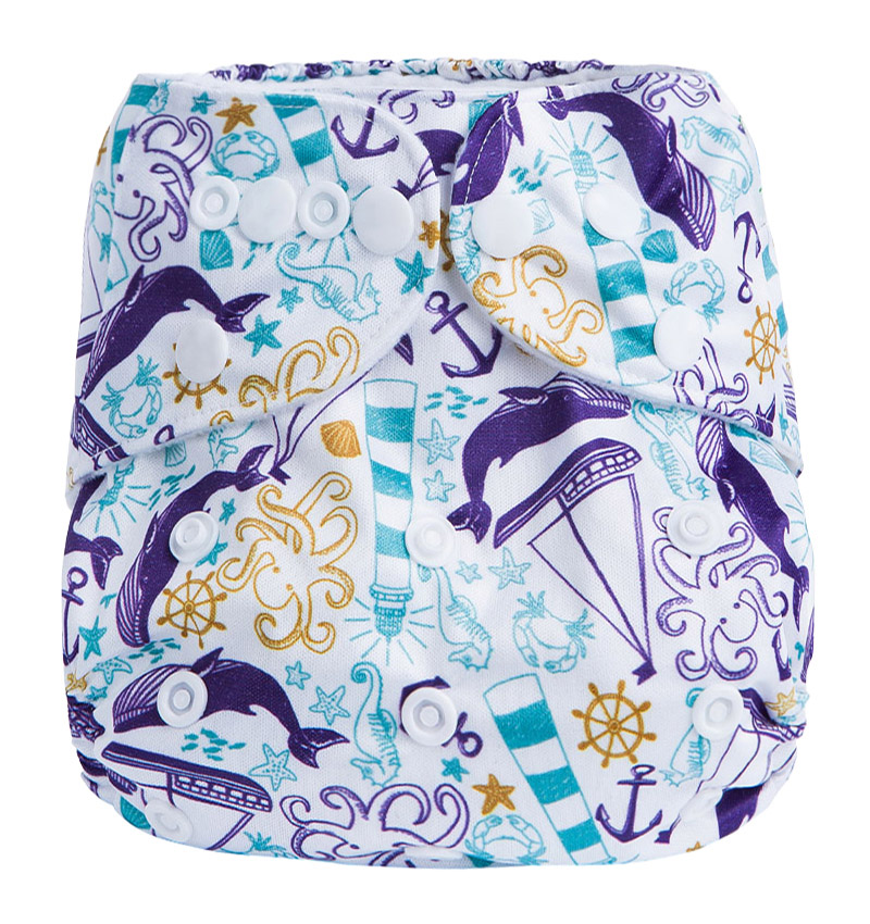 Cloth Reusable Diapers High Quality Reusable Pocket Cloth Baby Diapers Modern Cloth Nappies G4
