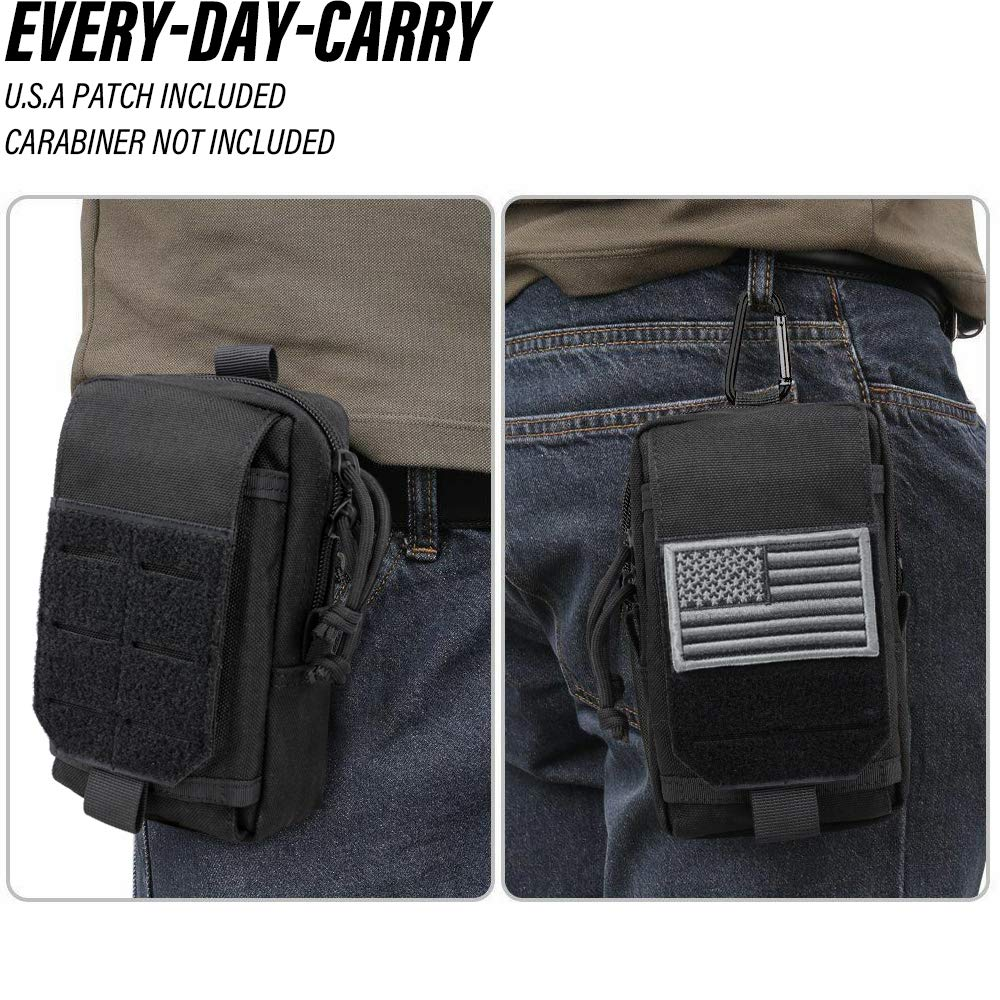 Details about  /Outdoor MOLLE Pouch Multi-purpose Compact Tactical Waist Bag Small Utility Pouch
