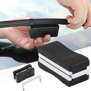 Universal Auto Car Vehicle Black Windshield Wiper Blade Refurbish Repair Tool Restorer Windshield Scratch Repair Kit Cleaner(China)