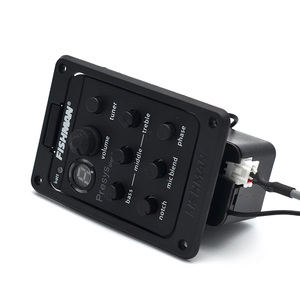 Image 4 - FISHMAN Presys 301 Mic Blend Dual Model Preamp EQ Tuner Piezo Pickup Beat