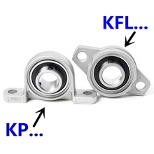 Soporte Kp08 Kfl001 002 004 A 30mm 003 Rodamiento-De-Bolas Bloque Aleacin-De-Zinc Montado