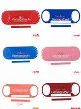 Farbe aufkleber Label Für psvita 2000 konsole Für PSV 2000 ps vita 2000 host zurück abdeckung rückseite frontplatte Label