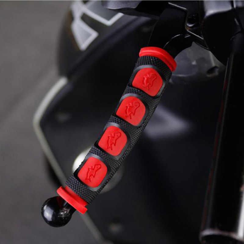 Palanca de embrague y freno de moto cubierta del manillar 2 unids/par para empuñadura de motocicleta guardia
