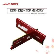 DIMM Memories Desktop-Memory Ddr4 8gb Juhor 3000mhz 2666mhz 16GB with Heat-Sink