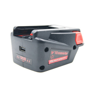 Image 5 - Krachtige USB Batterij Adapter Converter voor Milwaukee M18 18V Li Ion Batterij V18 Li Ion Batterij Batterijen Converter Adapter