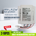 2-10 шт. 3,7 v 1800 мА/ч, Беспроводной контроллер Перезаряжаемые литий-ионные батареи для Sony Playstation 3 PS3 запасная часть для джойстика Батарея