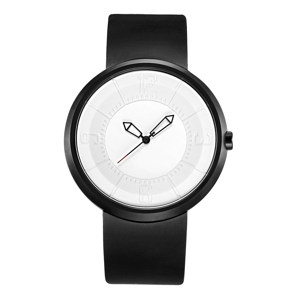 BREAK Lover's Analog Quartz Wristwatch With Gift Box Creative Unique Silicone Band Top Luxury Brand Fashion Sports Watches