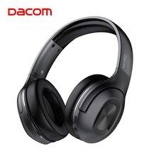 سماعات رأس Dacom HF002 قابلة للطي محمولة مزودة بتقنية البلوتوث 5.0 وتعمل بالبلوتوث 67 ساعة مع ميكروفون للهواتف والكمبيوتر