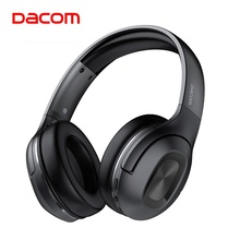 Dacom HF002 Katlanır Taşınabilir Bluetooth 5.0 kablosuz kulaklıklar 67H Çalma Süresi Bluetooth mikrofonlu kulaklık Telefonları Bilgisayar Için