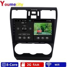 Android 9.0 Auto Multimedia Speler Voor Subaru Forester Impreza Wrx 2013 2014 2015 Radio Rds Gps Dvd Video Ips Bt usb Acht Core