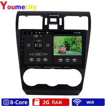 Android 9.0 Car Multimedia Player For Subaru Forester Impreza WRX 2013 2014 2015 Radio Rds Gps DVD Video IPS BT USB Eight Core