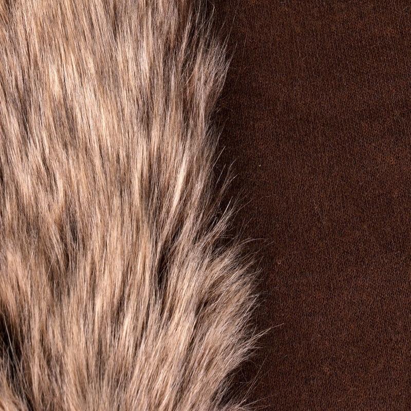 Café profond trois couleurs cheveux trois couleurs tresse cheveux tissu artificiel largeur 160CM tissu - 2