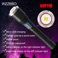 Мощный светодиодный фонарик 100000 люмен погрузчик 110 фонарь Зажигалка перезаряжаемые фонарик тактический фонарик для кемпинга охотничий фон...