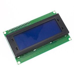 Image 2 - Ücretsiz kargo 5 adet 20x4 LCD modüller 2004 LCD modülü mavi aydınlatmalı beyaz karakter