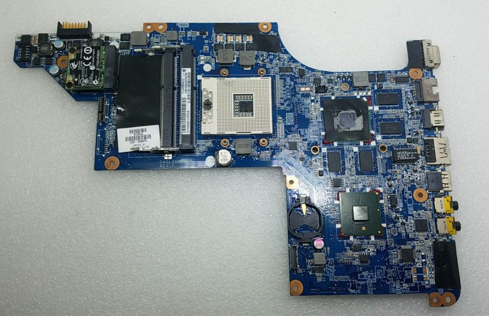 603642-001 For HP Pavilion DV6 DV6-3000 Laptop Motherboard Notebook Pc Mainboard Main Board DA0LX6MB6F2 REV F HM55