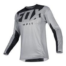 hpit fox motorcycle mountain bike team downhill jersey MTB Offroad DH MX bicycle locomotive shirt cross country mountain bike
