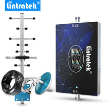 Lintratek 70dB repetidor 4G 3G 2G GSM four band signal booster B3 B1 B7 B20 900 1800 2100 2600 LTE800 mhz mobile phone amplifier