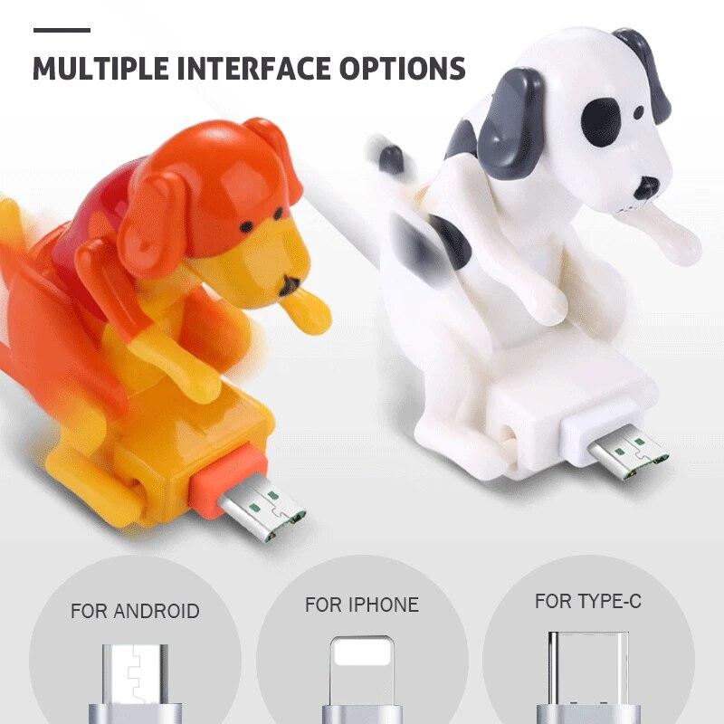 VIP ссылка забавные подушкой собака работает быстро Зарядное устройство зарядный кабель линии Милая быстрой зарядки Мощность кабель для пер...