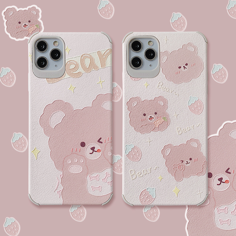 for <font><b>iphone</b></font> phone 6 6s plus 7 8 11 pro max xr <font><b>x</b></font> s <font><b>xs</b></font> <font><b>case</b></font> TPU Silicone Cover Coque Fundas cover Mobile phone protective <font><b>case</b></font> image