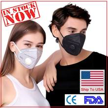 100pcs maskn95-facemask washable ffp3mask with valve ffpp2-mas-kn95 kn95respirator(China)