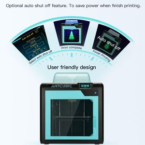 Image 5 - طابعة Anycubic ثلاثية الأبعاد Impresora 4Max Pro Imprimante عالية الدقة LCD مستوى سطح المكتب UM2 طابعة كبيرة الحجم ثلاثية الأبعاد الطباعة لتقوم بها بنفسك