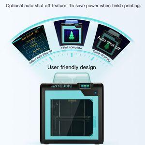 Image 5 - Impresora Anycubic 3D Impresora 4Max Pro Impresora LCD de alta precisión nivel de escritorio UM2 de gran tamaño impresión 3D Kit Diy