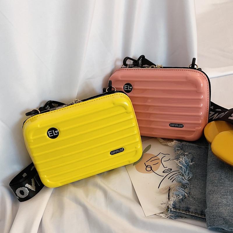 Personality Woman Bag 2019 Spring New Product Net Red Bag Texture Slung Shoulder Bag Fashion Convenient Mini Square Bag