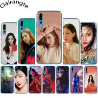 Sunmi Lee Kpop Girl Hard phone cover case for Huawei Honor 6A 7A 2GB 3GB Pro 7X 8 Lite 8C 8X 9 10 Lite