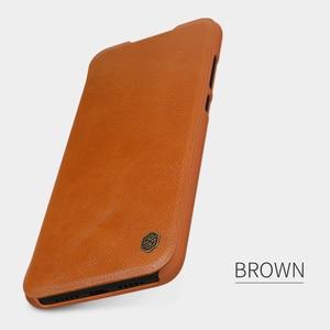 Image 5 - Caes for Xiaomi Mi 9 Lite CC9 CC9E CC 9 9E Nillkin Qin Series PU Leather Flip Cover For Xiaomi Mi A3 Case