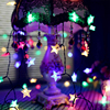 Solar Power 5M 20LEDS7M 50LEDS12M 100LEDS Star Fairy String Light Garlands Garden Christmas Wedding Decoration For Outdoor review