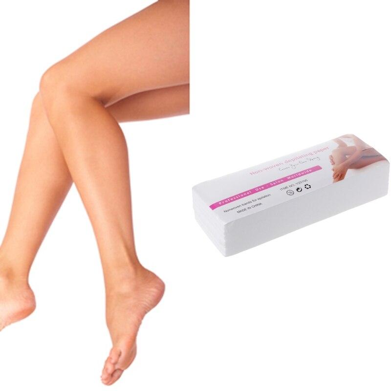100Pcs/Lot 7x20 Non-woven Wax Band Hair Removal Beauty Health Epilator Wax Paper