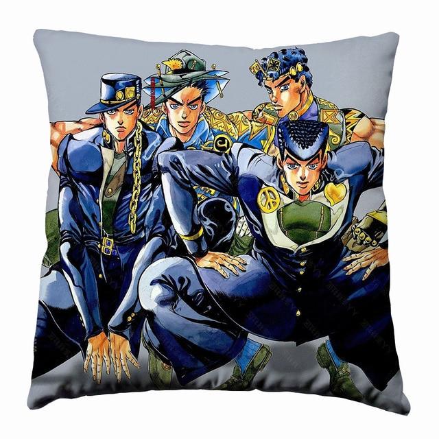 JoJo's Bizarre Silk Pillowcase
