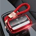 Новый автомобильный ТПУ чехол для ключей умный пульт дистанционного ключа 5 кнопок для Land Rover Jaguar XE XJ Xjl XF C-X16 V12 гитара F X Typ X-TY чехол для ключей