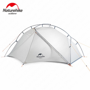 Image 2 - Naturehike VIK Series Tent 930g Camping Tent 15D Silicone Nylon Aluminum Pole Ultralight Tent Outdoor 1 person Tents NH18W001 K
