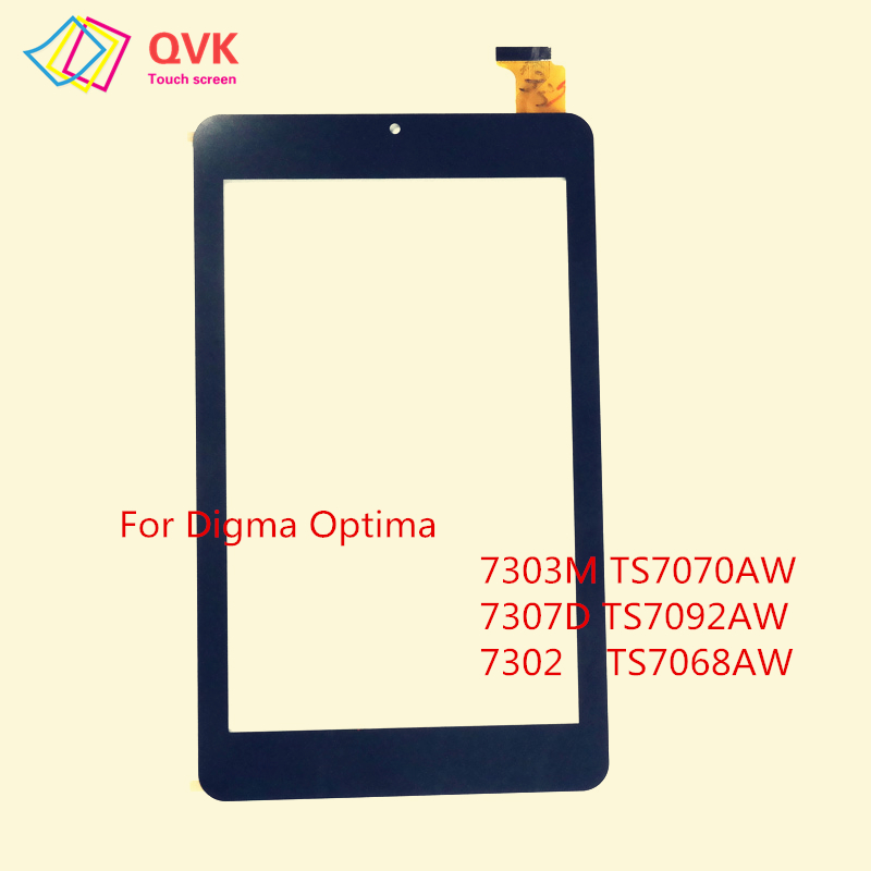 Black 7 Inch For Digma Optima 7013 7103M 7302 7303M 7305S 7307D 7701B 3G 4G Capacitive Touch Screen Panel TS7094PL
